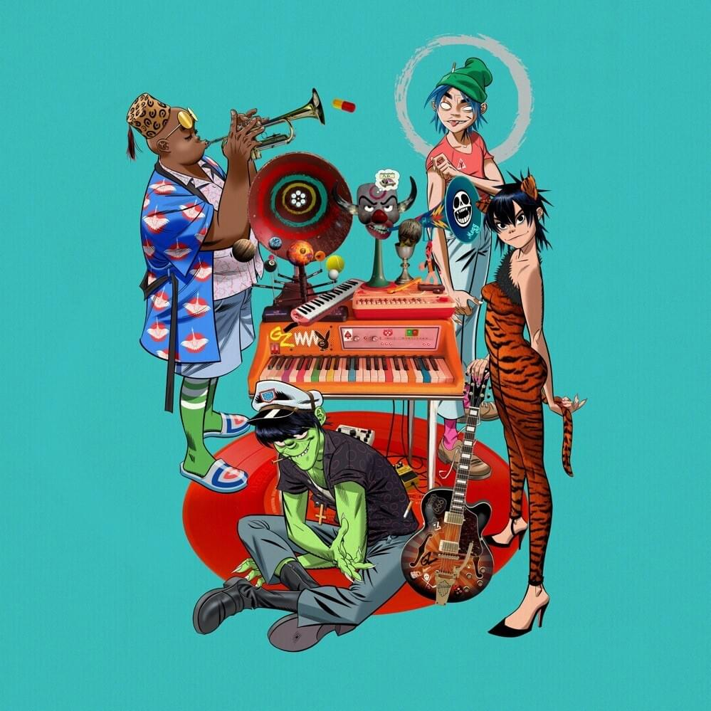 gorillaz february playlist